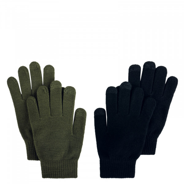 Damen Handschuhe 2er-Pack Aline Black Olive