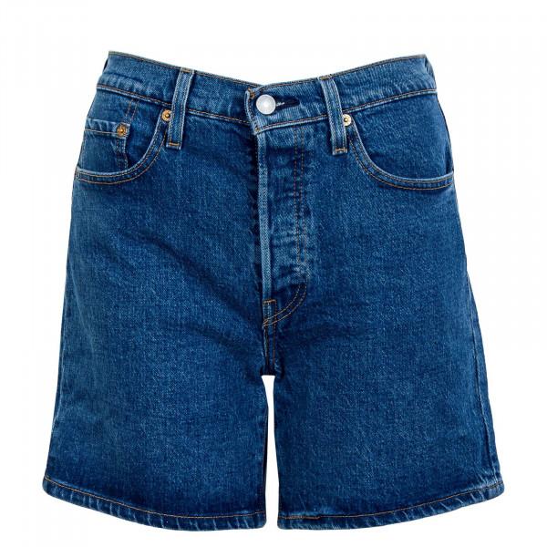 Damen Short - 501 Mid Thigh Charleston - dark blue