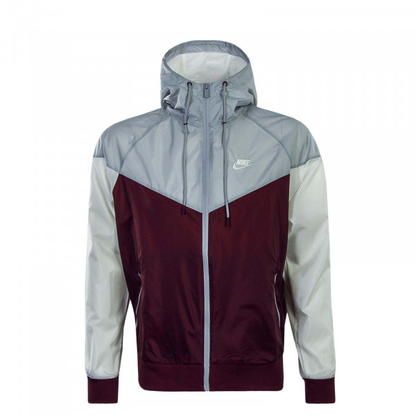 Nike Jkt NSW He WR Grey Beige Bordo