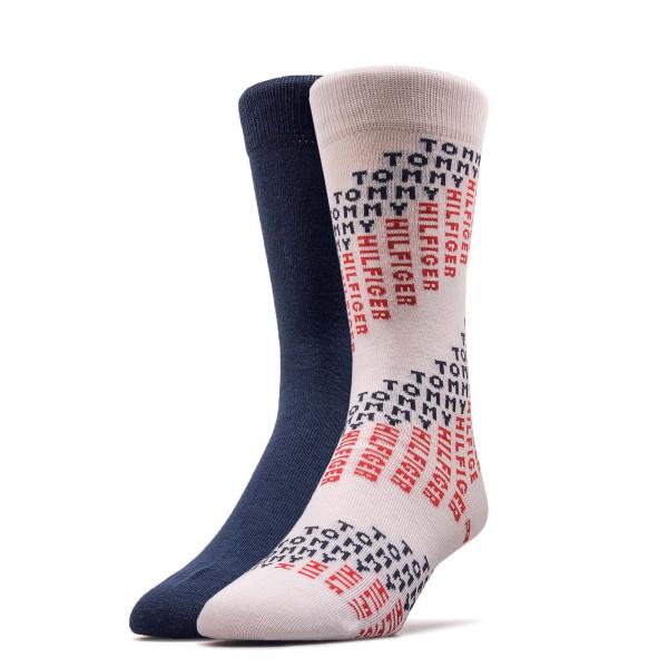 2er-Pack Socken Tommy White Navy