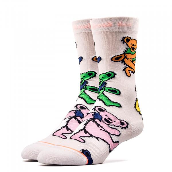 Stance Wmn Socks Foundation Bears White