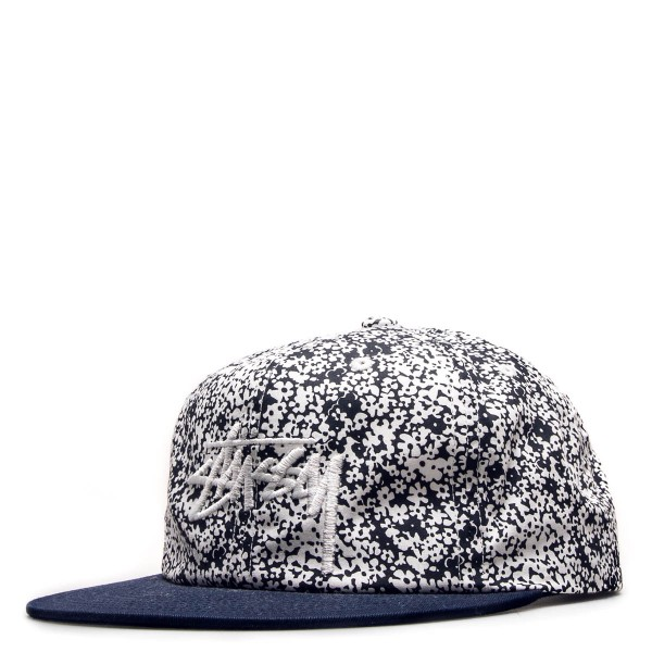 Cap Flower Crown Navy