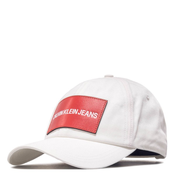 CK Cap J White Red