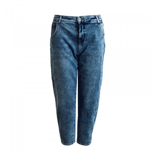 Damen Jeans - Troy Life HW Carrot - Light Blue
