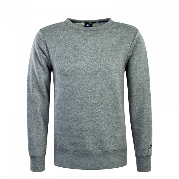 Herren Sweatshirt Crew Icon Grey