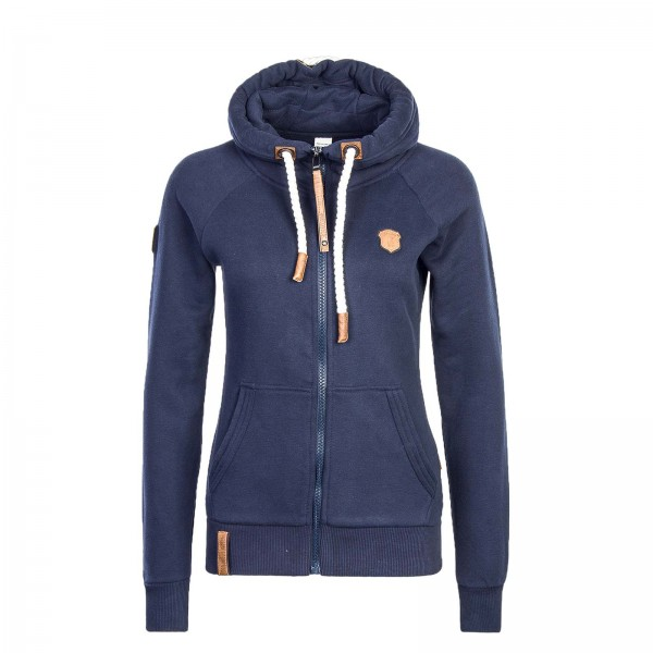 Naketano Wmn Sweatjkt Brazzo Dark Blue
