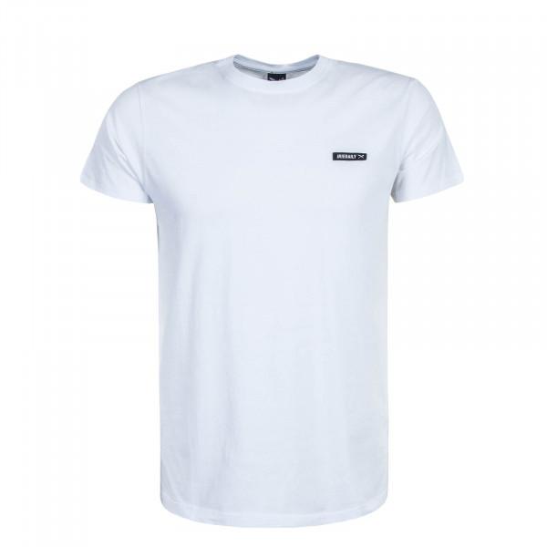 Herren T-Shirt Served Flag White