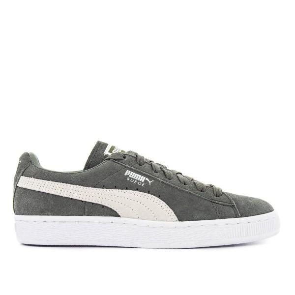 Puma U Suede Classic Grey White