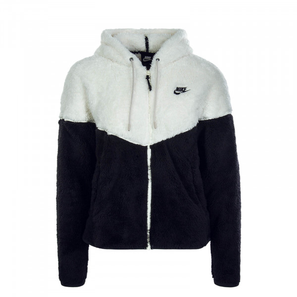 Damen Fleecejacke Winter 5468 White Black