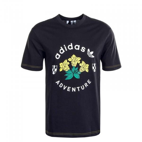 Herren T-Shirt ADV Graphic GD5608 Black