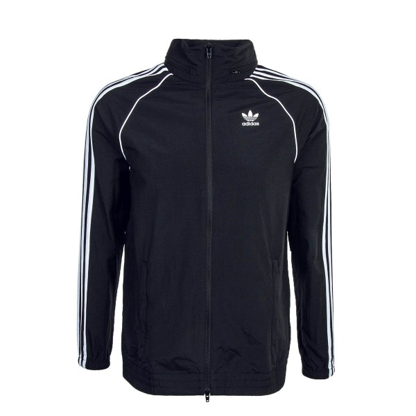 Adidas Jkt SST  Windbreaker Black White