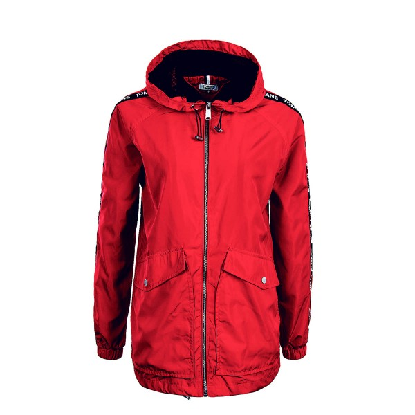 Tommy Wmn Jkt TJWEssential Red