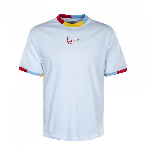 Herren T-Shirt - Small Signature - White