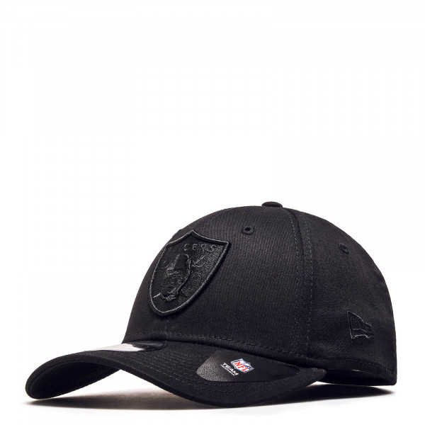New Era Cap 39Thirty Raiders Black Black