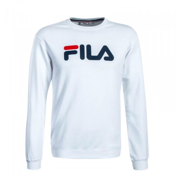 Herren Sweatshirt Classic Pure Crew White