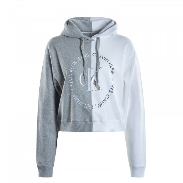 Damen Hoody 3470 Grey White