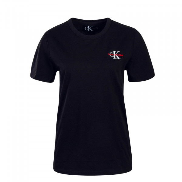 CK Wmn T-Shirt Monogram Black