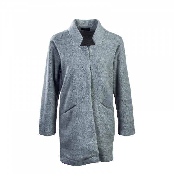 Sublevel Wmn Cardigan Fleece 1744A3 Grey