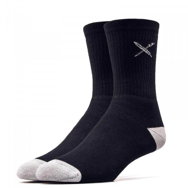 Iriedaily Socks Daily Flag Black