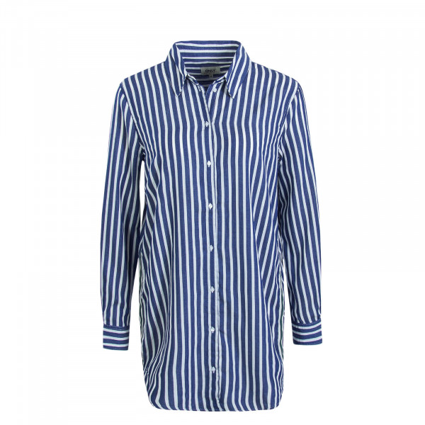 Damen Bluse Mandy Stripe Blue White