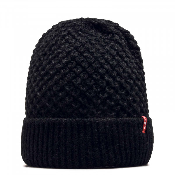 Beanie Classic Knit Regular Black