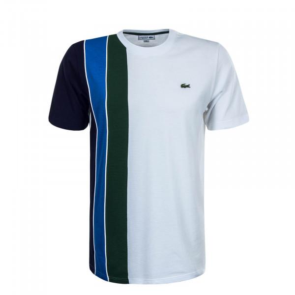 Herren T-Shirt TH1517 H77 White Green Blue