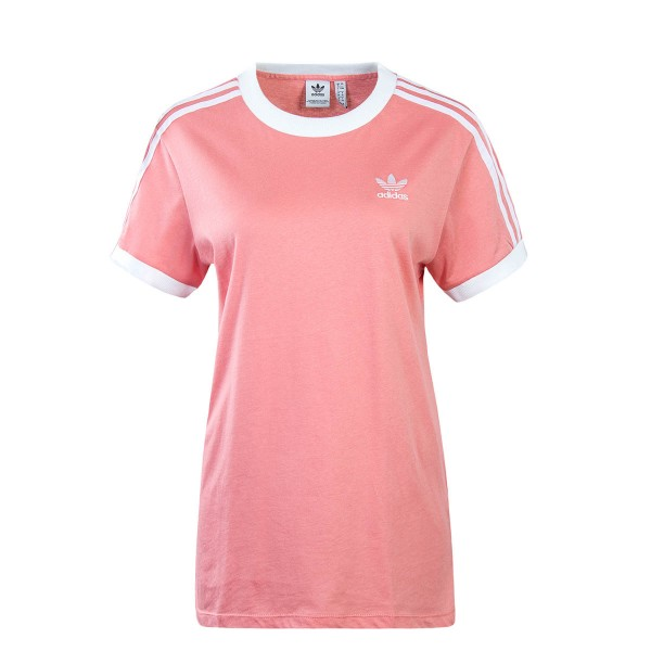 Adidas Wmn TS 3 Stripes Old Rose White