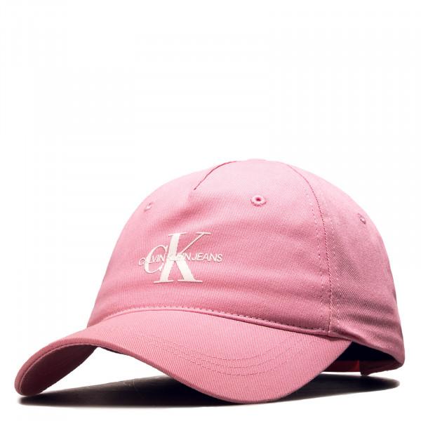 Cap J Monogram Pink White