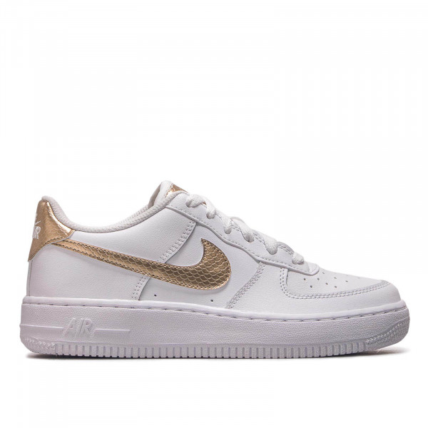 Damen Sneaker Air Force 1 EP GS White Gold