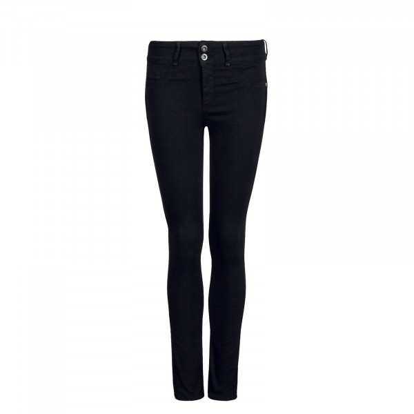 Damen Jeans Double Up 3 Black