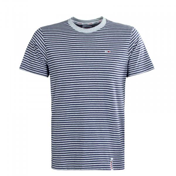 Herren T-Shirt - Stripe Tab Stripe Twilight - Navy / Grey
