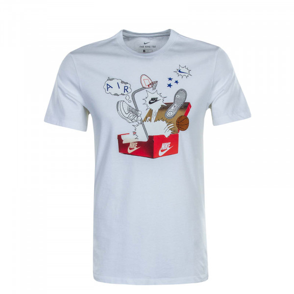 Herren T-Shirt NSW Shoebox Photo White Red