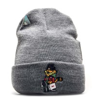 C&S Beanie Hyped Garfield Old Grey