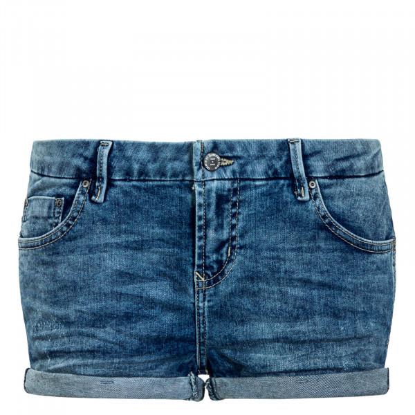 Damen Short 866 Mid Blue