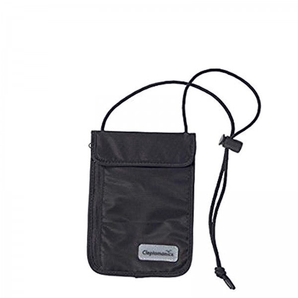Clepto Bag Neck Mini Pouch Black