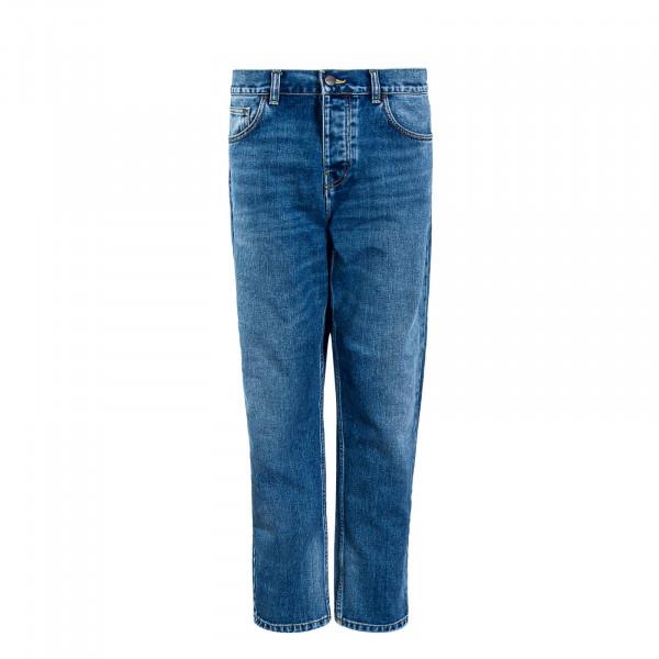 Herren Jeans Newel WJ Blue Worn Bleached