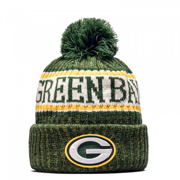 New Era Beanie Grepac Green Yellow White