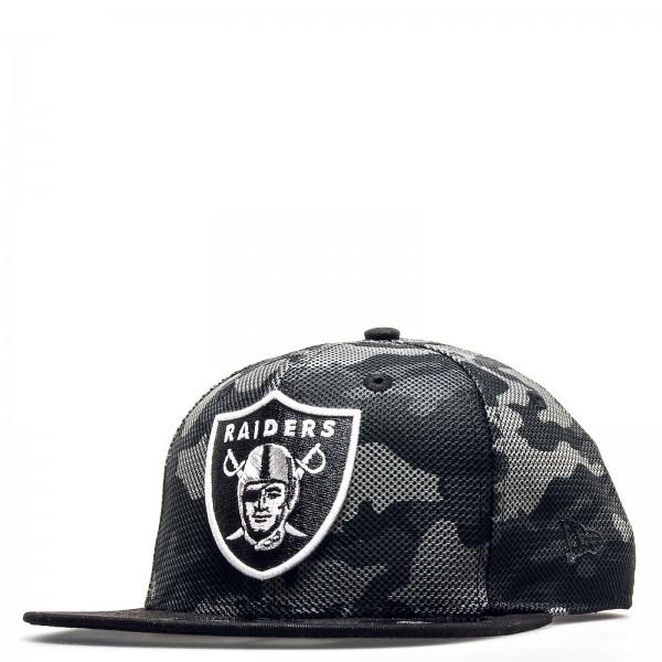 New Era Cap 9Fifty Raiders CamouflageBlk