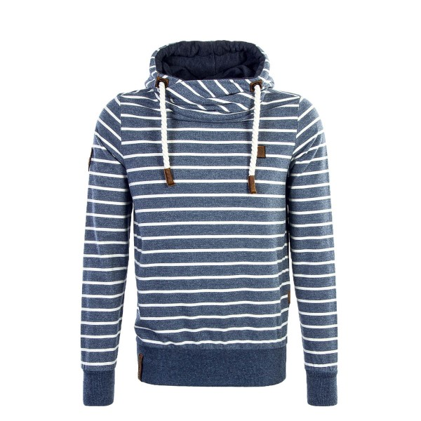 Naketano Hoody Vasco Navy White Stripe