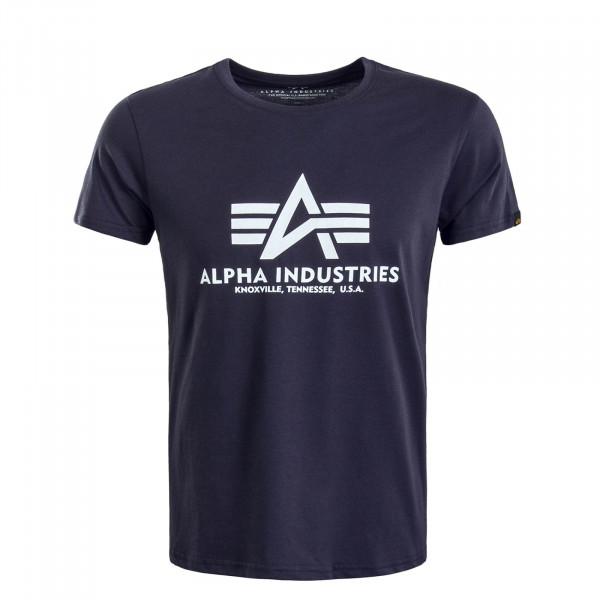 Herren T-Shirt Basic Navy