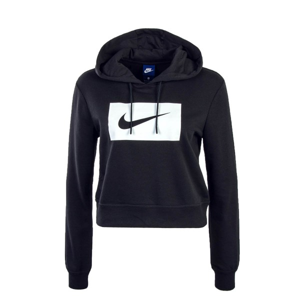 Nike Wmn Hoody NSW Black White