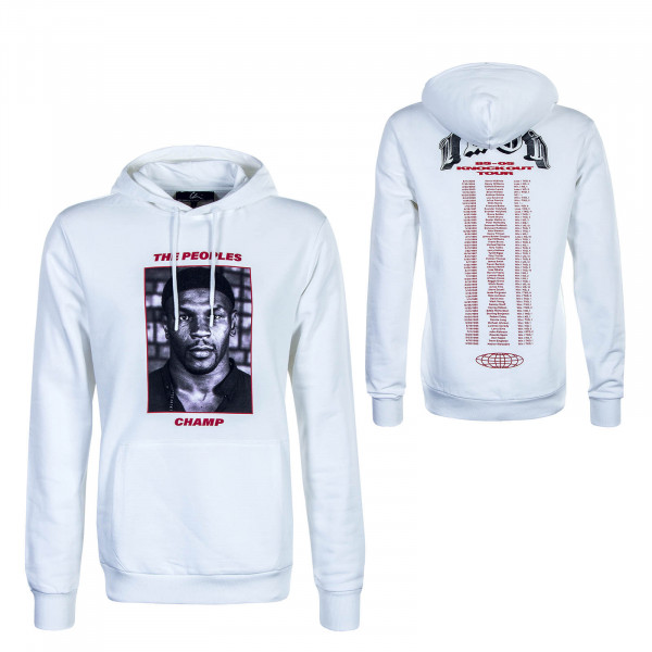 Herren Hoody The Peoples Champ 3 White