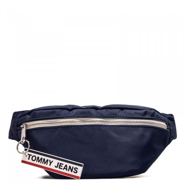 Hip Bag Logo Tape Bumbag Navy
