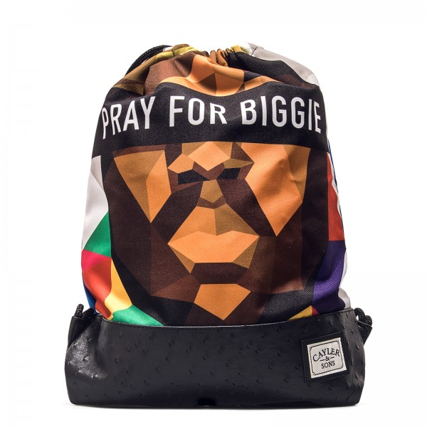 Cayler & Sons Gym Bag Bigasso Blue -  Pray for Biggie