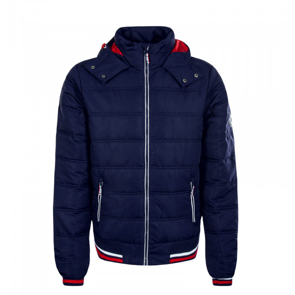 Herren Jacke 44448A Navy Red White