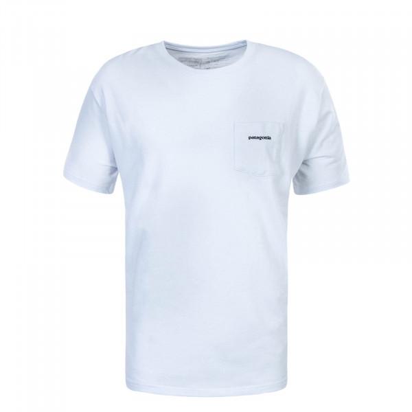 Herren T-Shirt P6 L.Pocket Responsibili White