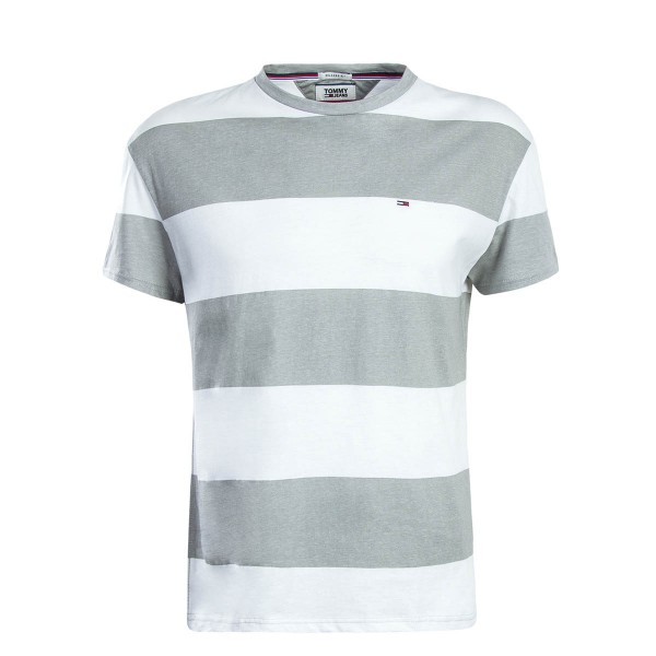 Tommy TS TJM Race Stripe White Grey