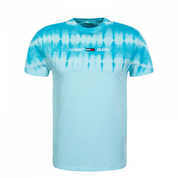 Herren T-Shirt TJM TIE DYE Light Chlorine Blue