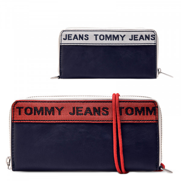 Wallet TJ Logo Tape Navy White