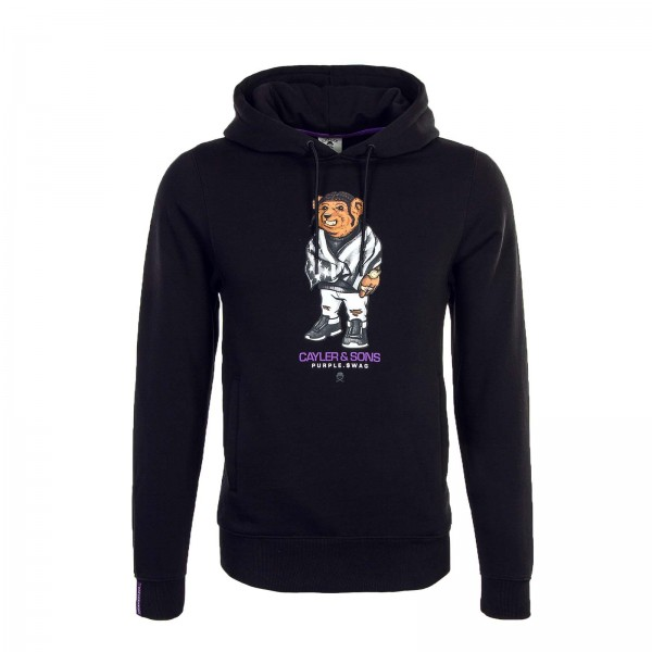 Cayler&Sons Hoody Purple Swag Black